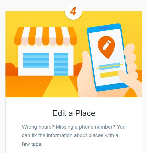 Google Local Guide Edit A Place