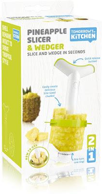 pineapple 4 in 1 peeler, corer, slicer and wedger