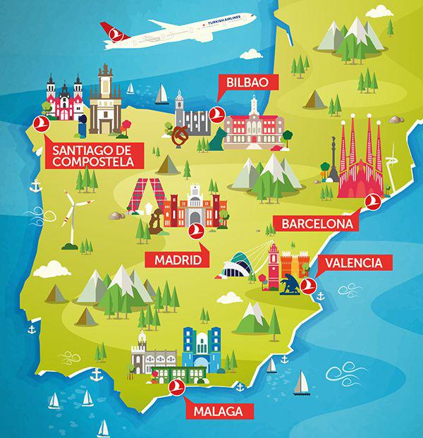 Bilbao Cartina Spagna.Un Viaggio In Spagna