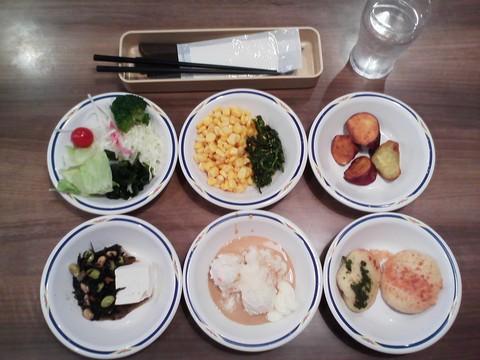 健康サラダバーランチ¥647-2 ステーキガスト一宮尾西店12回目