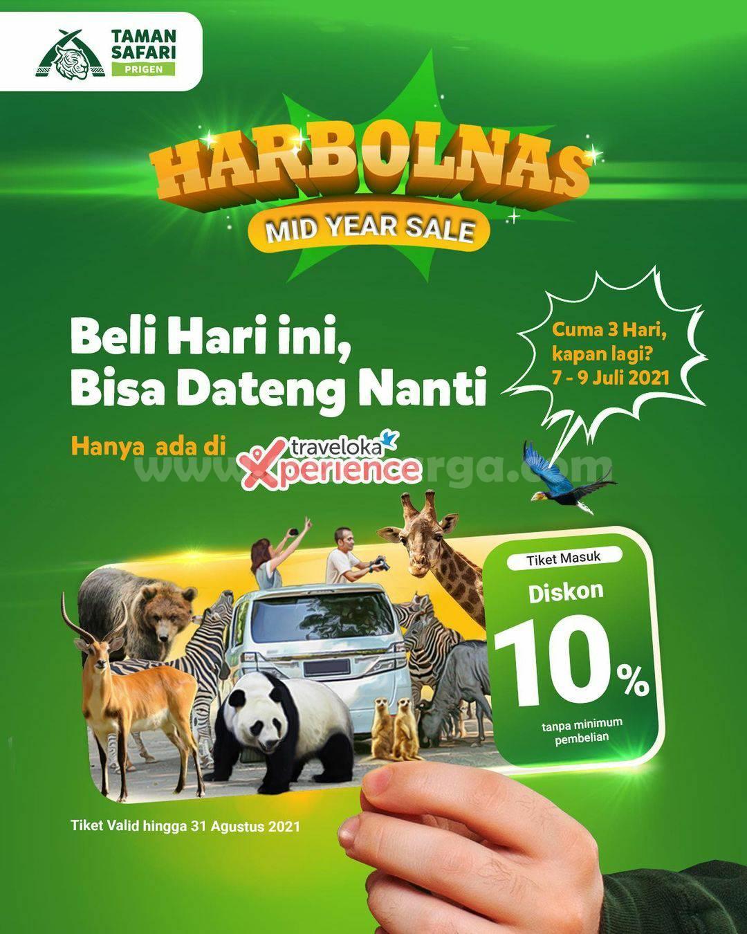 Promo TAMAN SAFARI Spesial HARBOLNAS MID YEAR SALE 6