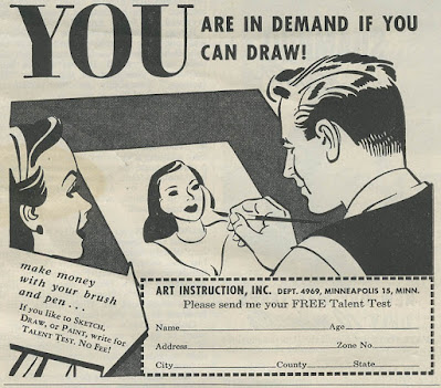 You are in demand if you can draw