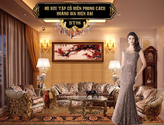 Ghế sofa cổ điển BT08