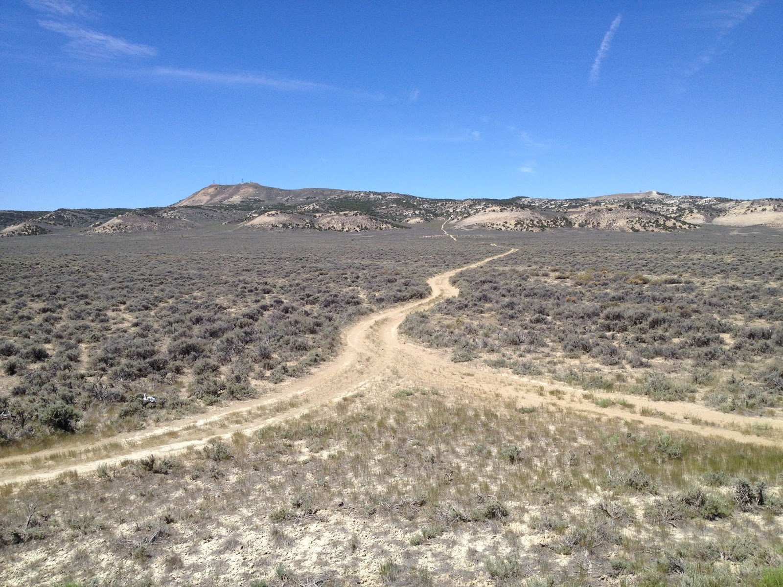 Larry's Bike Ride Adventures: Rock Springs, WY to scenic ...