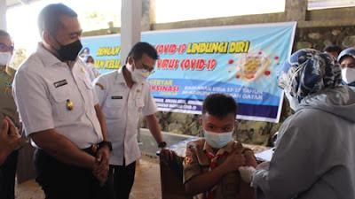 Wagub Minta Orangtua Siswa Izinkan Anak untuk Vaksinasi
