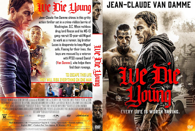 We Die Young DVD Cover