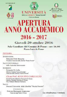 Apertura Anno Accademico Università della Liberetà