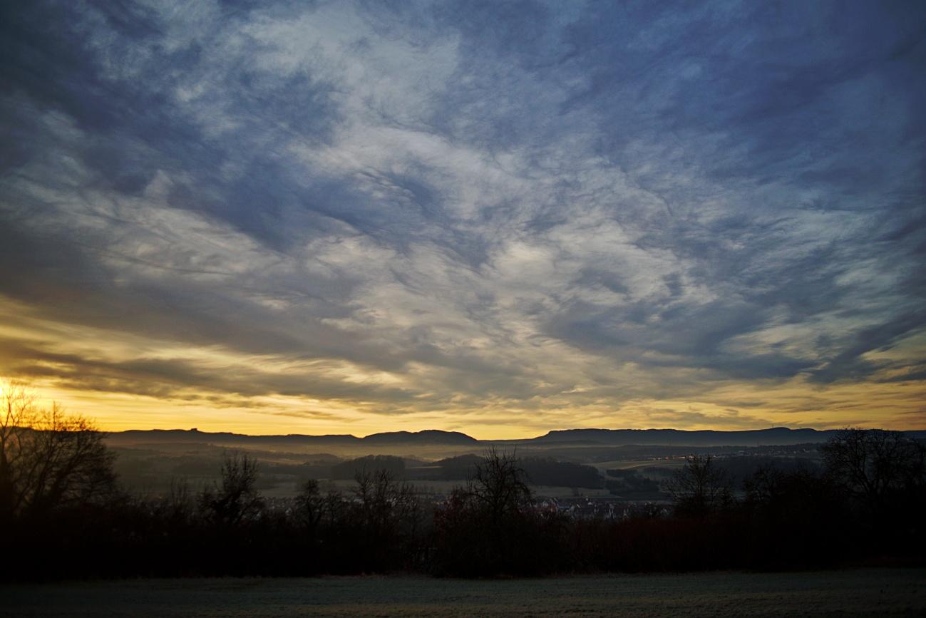 Bild des Tages #35 — Sonnenaufgang
