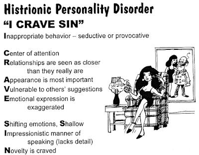 Гистрионное личностное расстройство - как проявляется