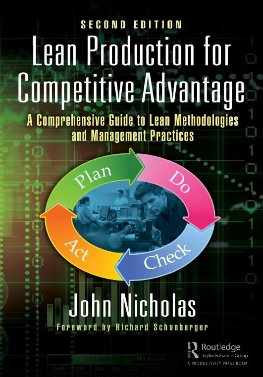 Lean Production for Competitive Advantage: A Comprehensive Guide to Lean Methods and Management Practices