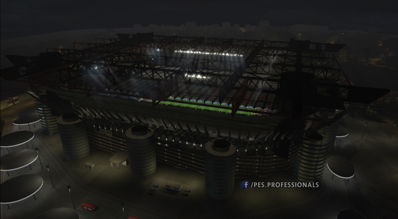 San Siro Stadium PES Profesisonals Patch V1