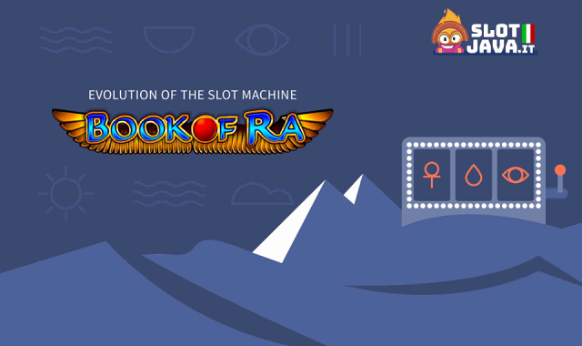 Evolution of Book of Ra Slot Machine