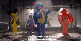 Chord Gitar Maroon 5 - Don't Wanna Know