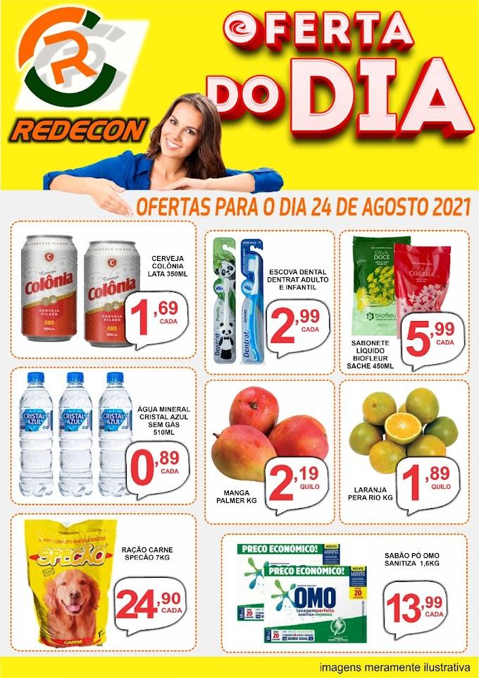 Confira as ofertas da REDECON para esta terça-feira, 24