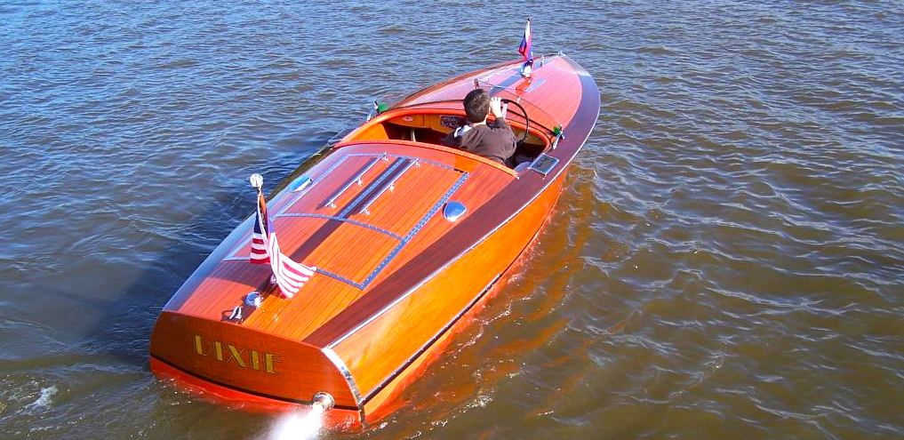 how to build a wooden speed boat