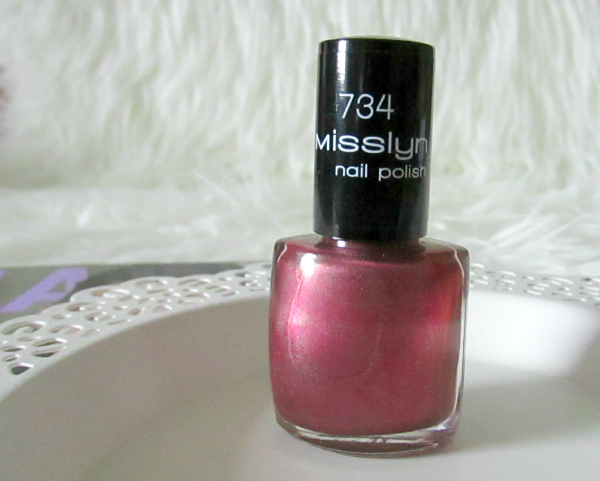 MISSLYN Rock the party Nagellack - My fair Lady Nr. 734 - 4,95€