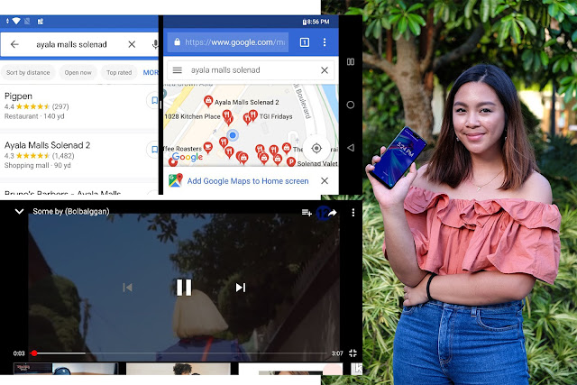Patty Villegas - The Lifestyle Wanderer - ASUS - ZenFone - Max Pro - M2 - Review - split screen