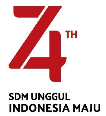 Tipe 1 : Orsinil, Tema dan Logo HUT Ke-74 Kemerdekaan RI Tahun 2019, http://www.librarypendidikan.com/