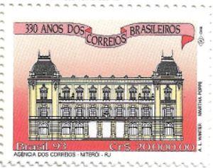 Selo Agência dos Correios em Niterói