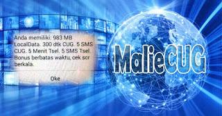 Cara Daftar CUG Telkomsel CUG 20K 1GB Full Servis