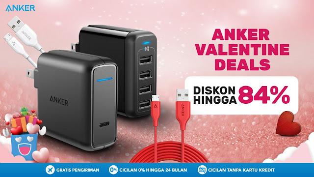#BliBli - #Promo #Diskon s.d 84% Produk ELektronik Merk ANKER (s.d 14 Feb 2019)