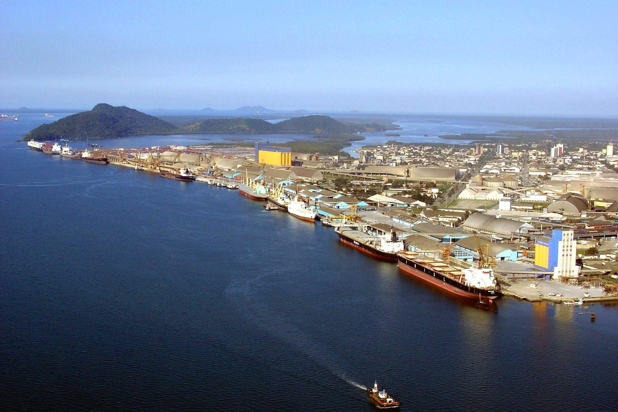 TRF suspende decisão que impedia obra de derrocagem no Porto de Paranaguá