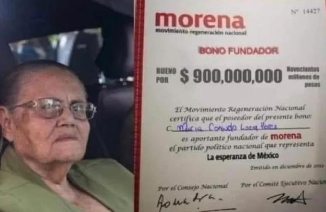 Ya salio el peine, acusan que mamá de El Chapo donó 900 MDP a MORENA?