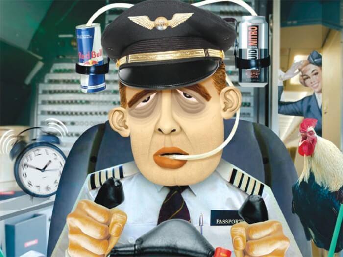 Uçak Yolculuklarında Pilotlar Uyur