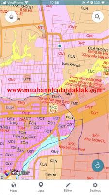 Bán đất Buôn Krông B Xã Eatu BMT 590 triệu