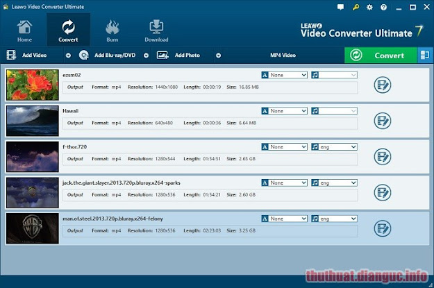 Download Leawo Video Converter Ultimate 8.2.0.0 Full Crack