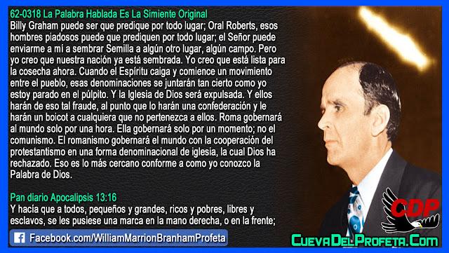 Y la Iglesia de Dios será expulsada - William Branham en Español