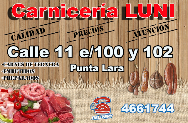 Carniceria Luni Punta Lara