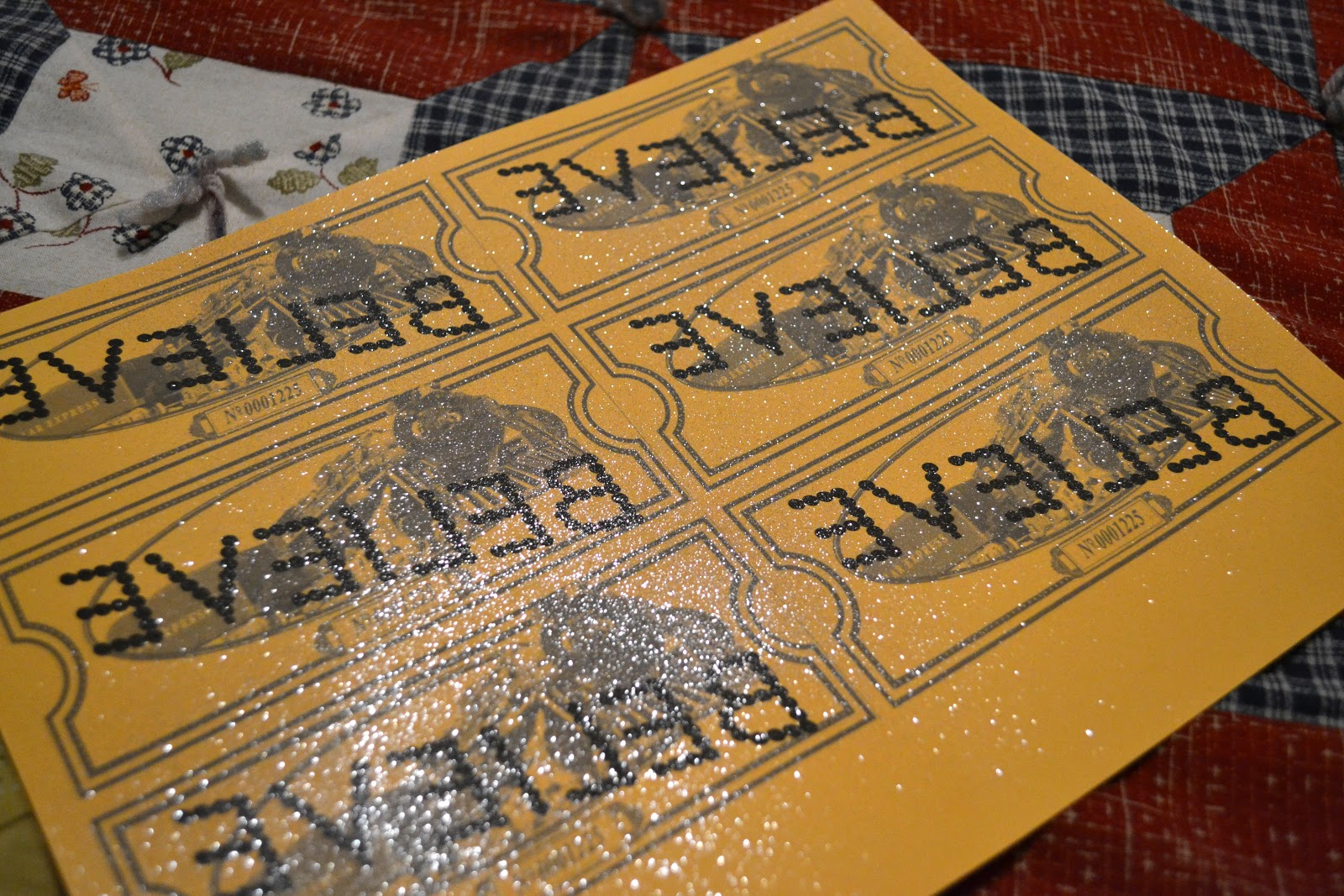 picture relating to Polar Express Golden Ticket Printable identified as Printable Polar Categorical Tickets