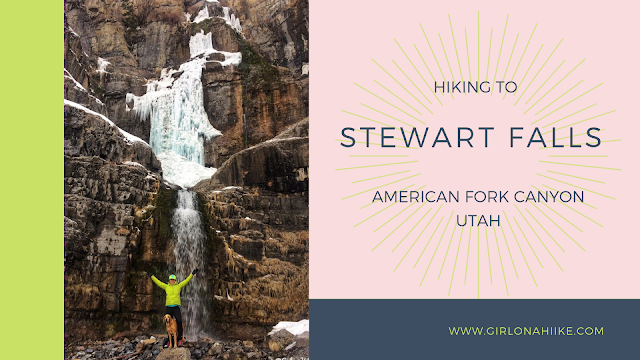 The Top 10 Hikes in American Fork Canyon, American fork canyon best hikes and trails, best views in American fork canyon, Stewart Falls trail