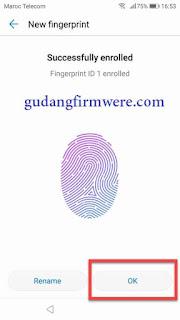 FRP Bypass Honor 9N verifikasi new fingerprint
