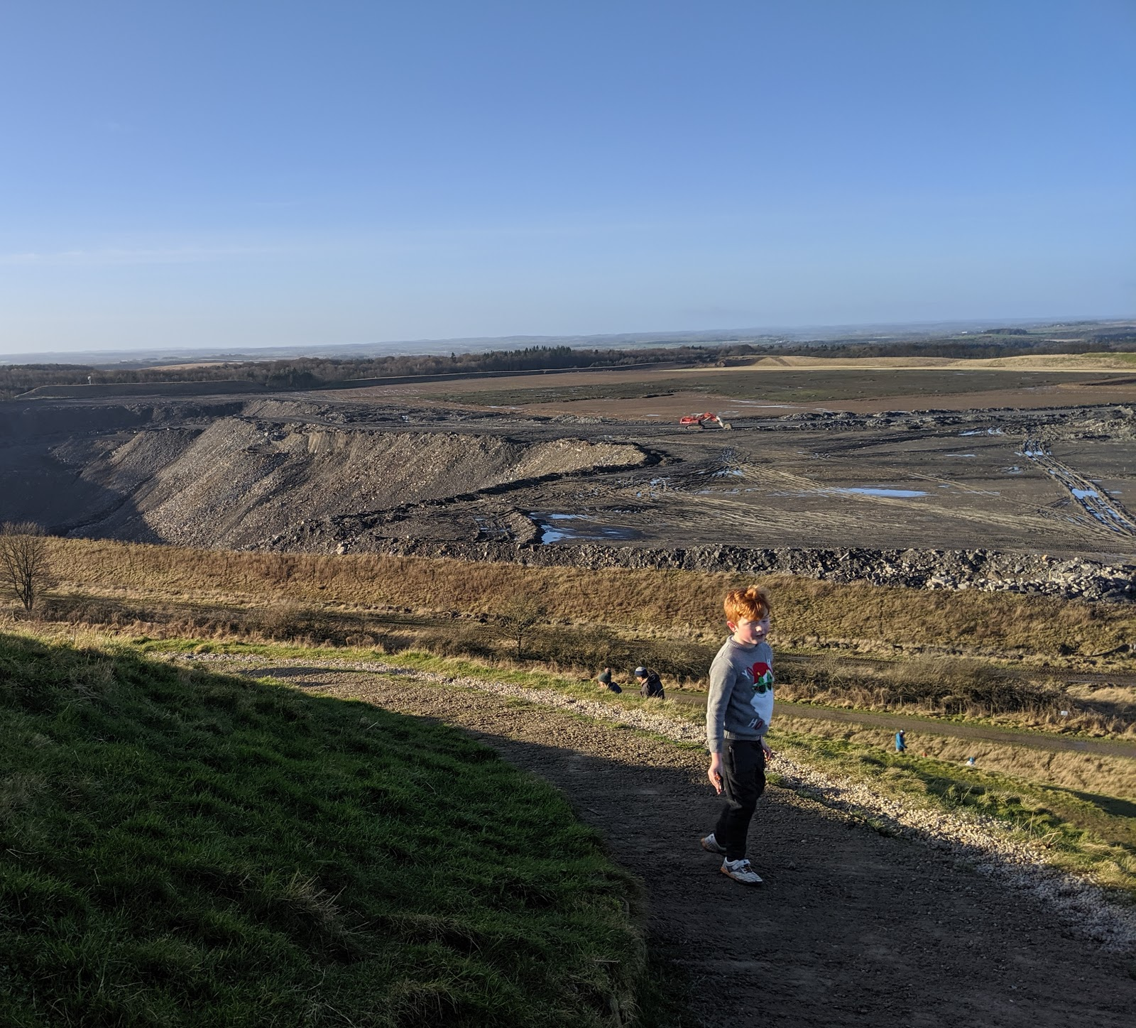 A Guide to Visiting Northumberlandia - shotton surface mine