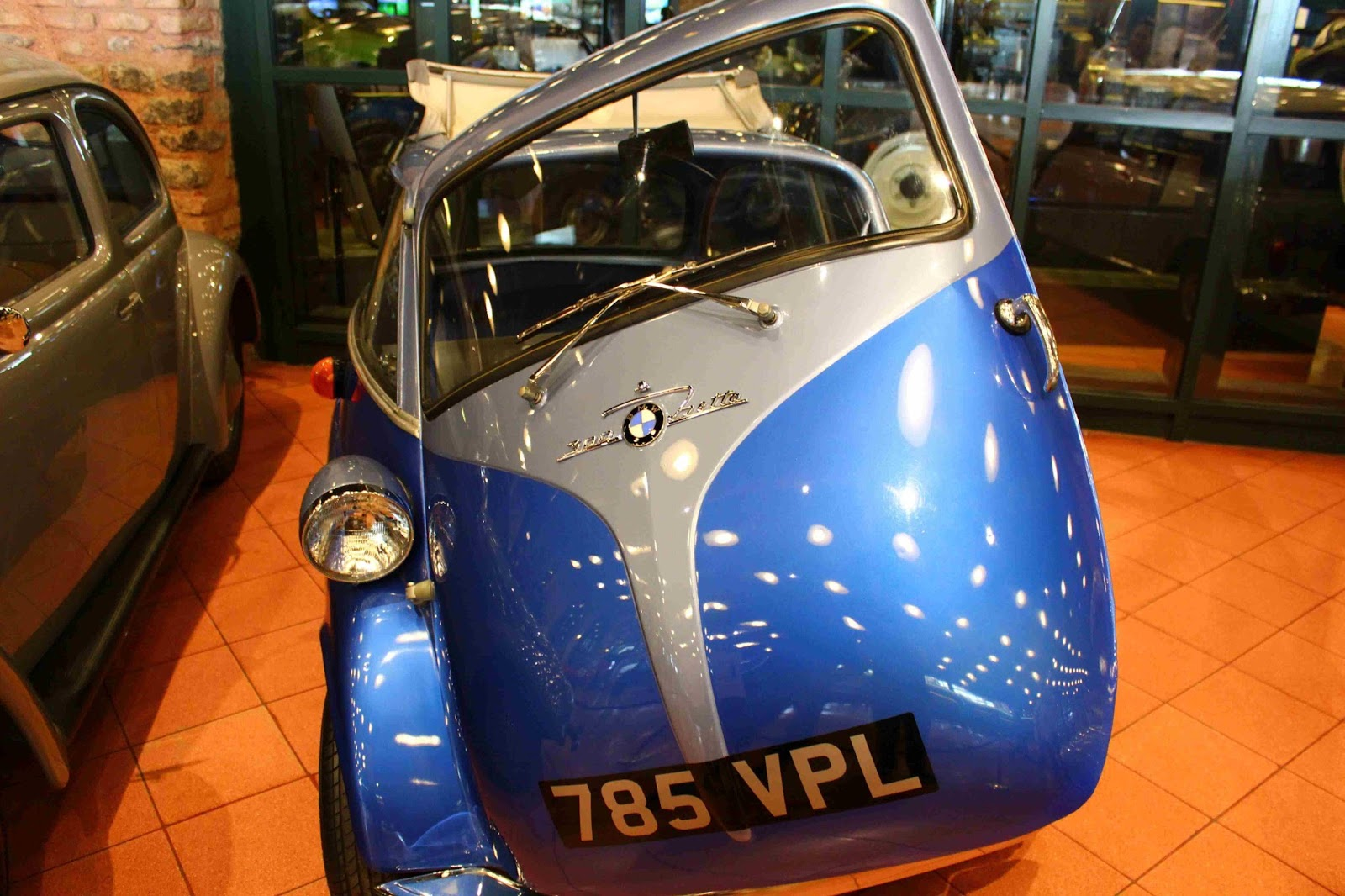 rahmi koç müze bmw araba