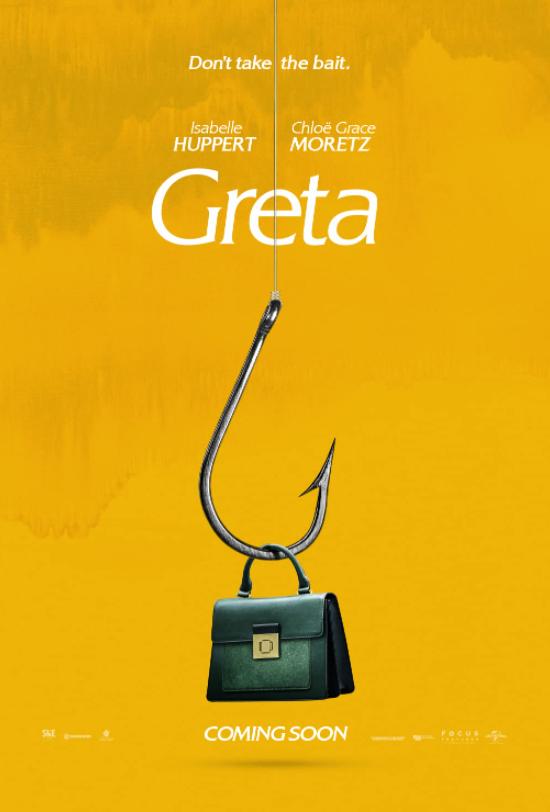 Greta, Crime, Drama, Mystery, Thriller, Movie Review by Rawlins, Rawlins GLAM, Rawlins Lifestyle