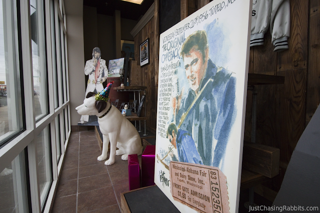 Elvis Display at the Mississippi Hills Heritage and Cultural Center