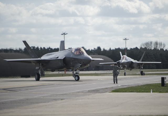 F-35 ARRIVES IN ESTONIA