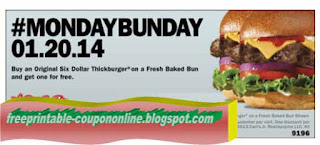 Free Printable Hardees Coupons