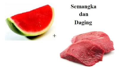Namun, saat anda mengkonsumsi semangka bersamaan dengan daging apa saja khususnya kambing yang anda konsumsi sebagai sajian penutup sebaiknya tidak. Dikarenakan