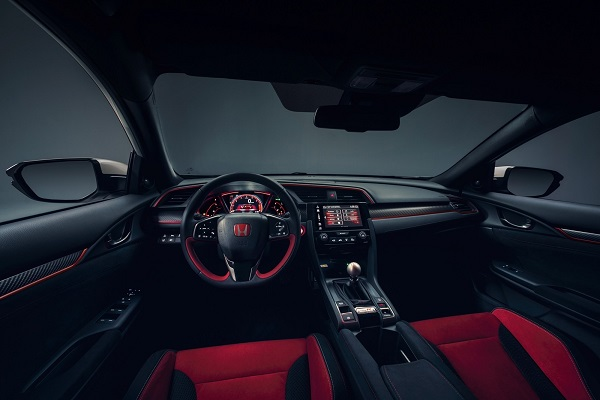 Interior Honda Civic Type R 2018