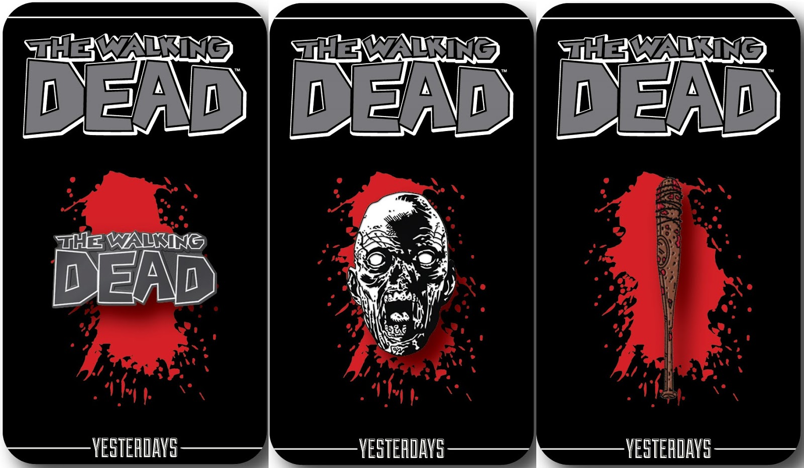 Wonderful San Diego Comic Con 2016 Exclusive Skybound Enamel Pin Series 1 By  Yesterdays   The