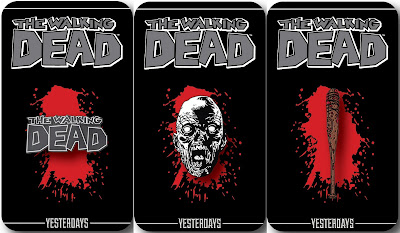 San Diego Comic-Con 2016 Exclusive Skybound Enamel Pin Series 1 by Yesterdays - The Walking Dead