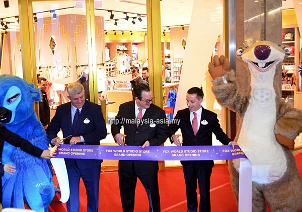 Opening of 20th Century Fox World Studio Store Malaysia