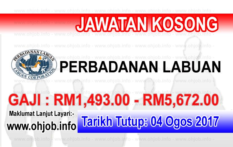 Jawatan Kerja Kosong Perbadanan Labuan - PL logo www.ohjob.info ogos 2017