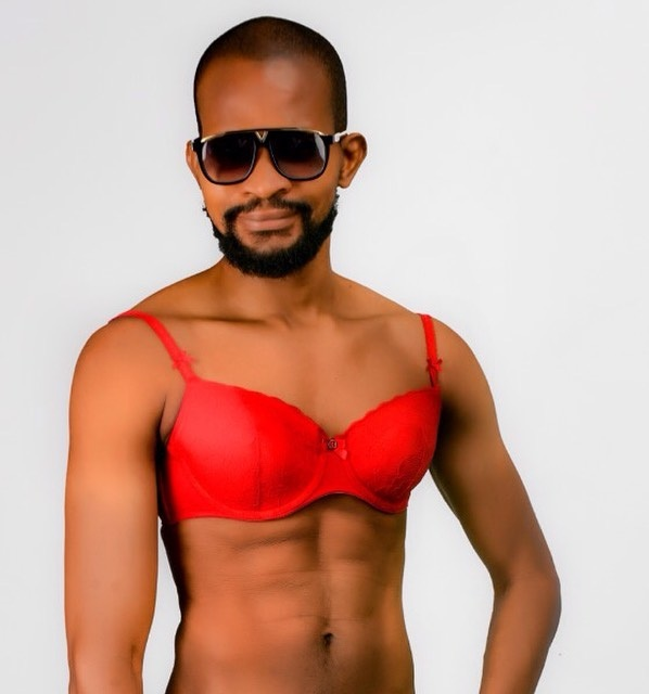Gay Actor, Uche Maduagwu Drops Pictures Of Himself Putting Up Brassieres