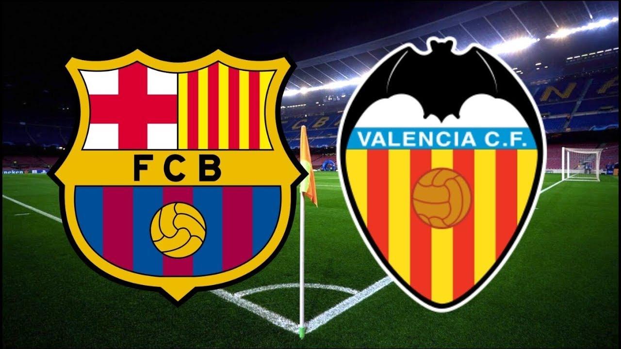 مباراة برشلونة وفالنسيا بث مباشر الدوري الإسباني