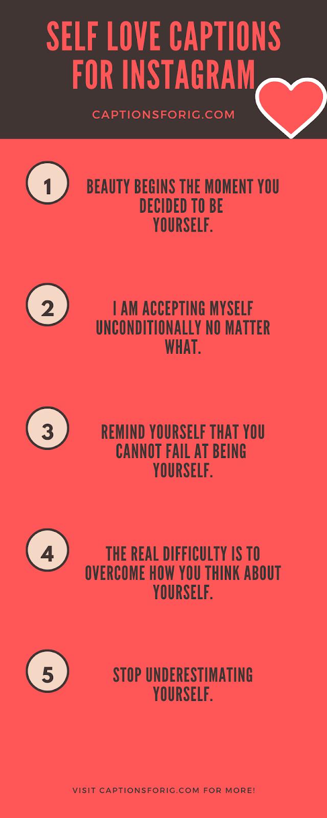 Self-Love-Captions
